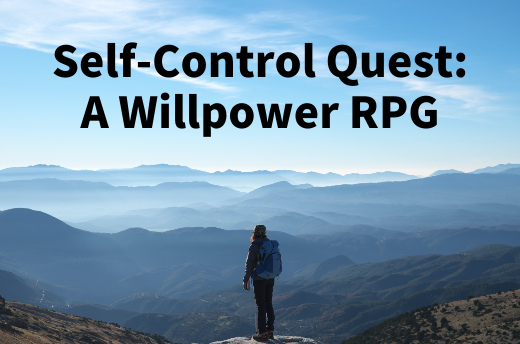 Self-Control Quest: A Willpower RPG
